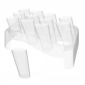 Cone Clear 75ml con Stand 180x260 mm (5 Kits)