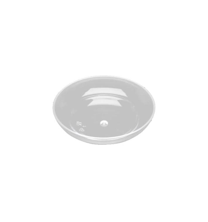 Tigela Plastico Degustação Trans.8,5x1,8cm (4 Uds)