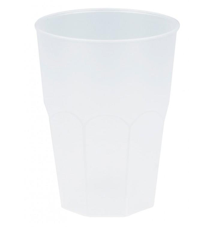 "Copo Plastico ""Frost"" Branco PP 350ml (20 Uds)"