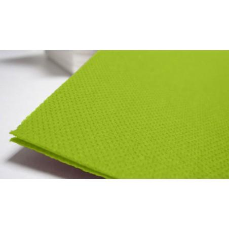 Servilleta 40x40 Verde Pistacho de Papel (Paquetes 50 unidades)