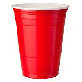 Copo Rígido de PS 12 Oz/360 ml Vermelho (1000 Unidades)