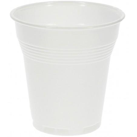 Copo de Plástico VENDING PS Branco 160ml (100 Uds)
