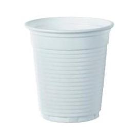 Copo de Plastico PS Branco 166ml Ø7,0cm (3000 Unidades)