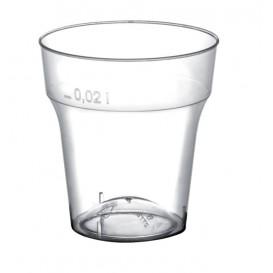 Copo de Plastico para Shot Moon Transp. PS 20 ml (50 Uds)