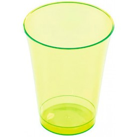 Copo de Plastico PS Verde 230ml (150 Uds)