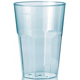 "Copo ""Deco"" Transparente PS 300 ml (30 Uds)"