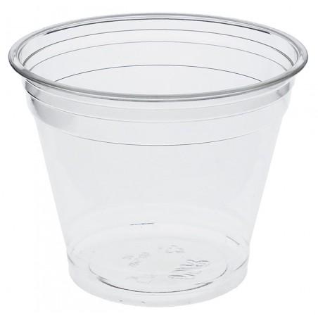 Vaso Rígido de PET 9 Oz / 265 ml Bajo (Paquete de 50 unidades)