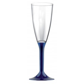 Copo PS Flute Champanhe Azul 120ml (200 Uds)