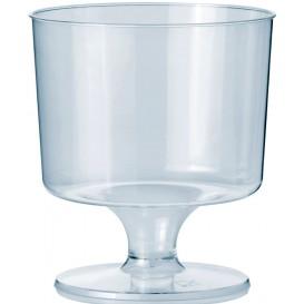 Copo Plastico Vinho com Pé PS 170 ml 1P (10 Uds)