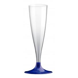 Copo PS Flute Champanhe Azul Perlé 140ml (400 Uds)