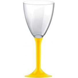 Copo PS Flute Vinho Amarelo 180ml 2P (20 Uds)