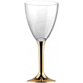 Copo PS Flute Vinho Ouro Cromo 180ml (20 Uds)