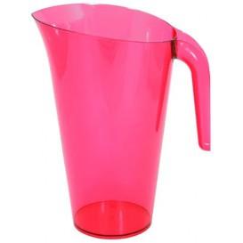 Jarro de Plástico Framboesa 1500 ml (20 Ud)