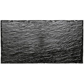 Bandeja de Plastico em Ardósia 300x158 mm (10 Unidades)