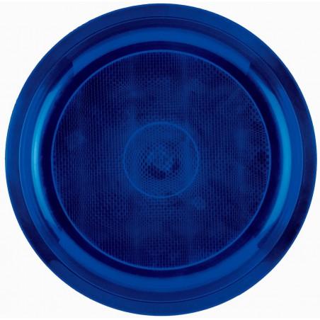 Prato de Plastico Azul Round PP Ø290mm (150 Uds)