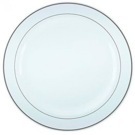 Prato Rigido Transparente Cristal 14cm (108 Uds)