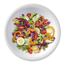 Prato de Plastico Fundo Branco Ø195mm (300 Uds)