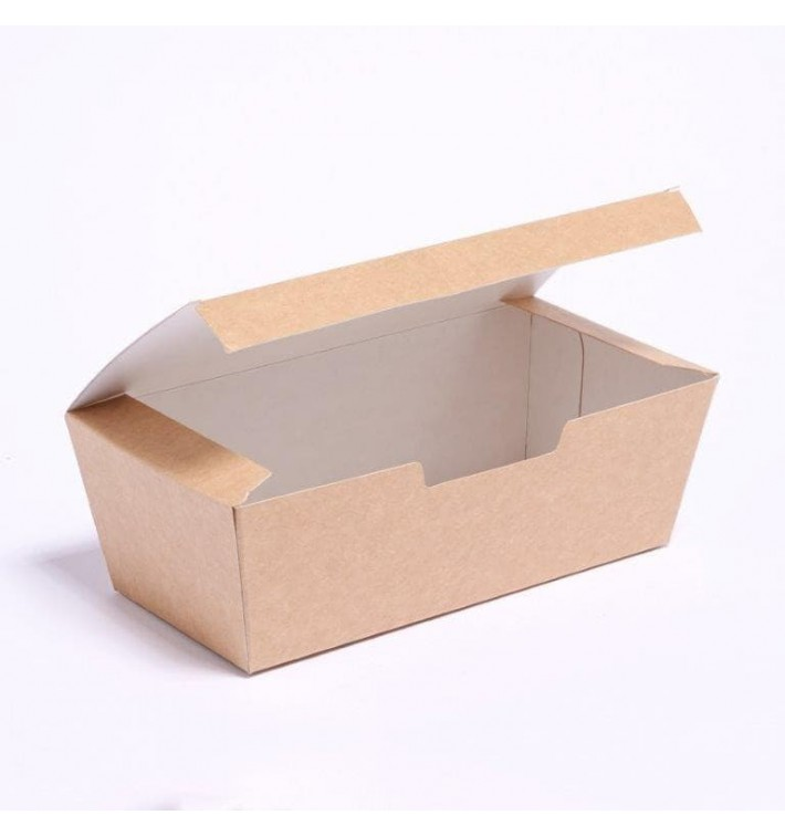 Caixa Take Away Kraft 16,5x7,5x6cm (25 Uds)