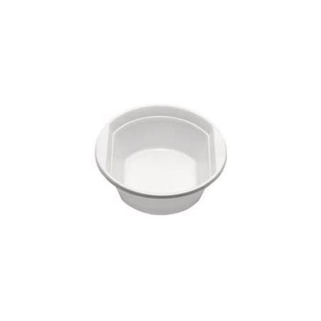 Tigela de Plastico PS Branco 250ml (100 Unidades)