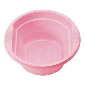 Tigela de Plastico PS Rosa 250ml Ø12cm (660 Unidades)