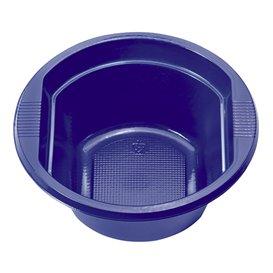Tigela de Plastico PS Azul Escuro 250ml (30 Uds)