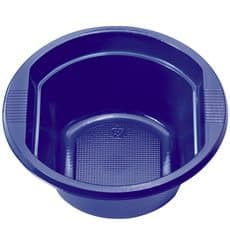 Tigela de Plastico PS Azul Escuro 250ml (30 Unidades)