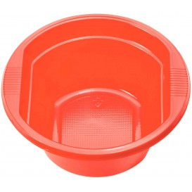 Tigela de Plastico PS Vermelho 250ml Ø12cm (660 Unidades)