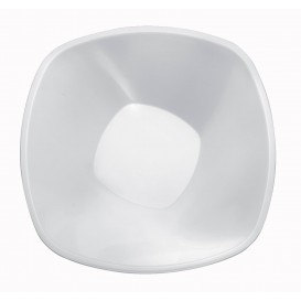 Tigela de Plastico Branco Ø210mm 1250ml (3 Uds)