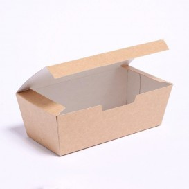 Caixa Take Away Kraft 16,5x7,5x6cm (600 Uds)