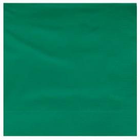Guardanapos Papel Fl Dupla Verde 25x25cm (200 Uds)