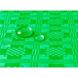 Toalha Papel Plastificado Rolo Verde 5x1,2m (10 Uds)