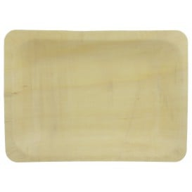 Bandeja de madeira 19,5x14x3cm (25 Unidades)