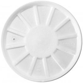 Tampa Isopor Ventilação Branco Ø11,7cm (50 uds)