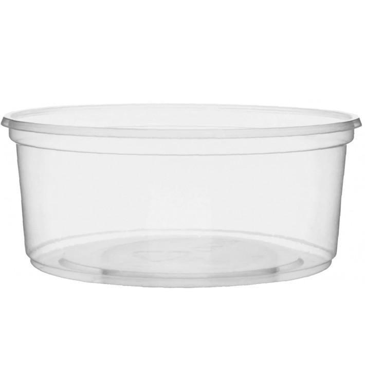 Embalagem Plastico Redondo Transp. 200ml Ø10,5cm (50 Uds)