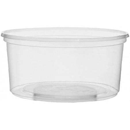 Embalagem Plastico Redondo Transp. 250ml Ø10,5cm (50 Uds)