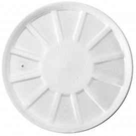 Tampa Isopor Ventilação Branco Ø11cm (50 uds)