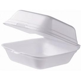 Embalagem Foam Hamburguer Grande Branco (125 Uds)
