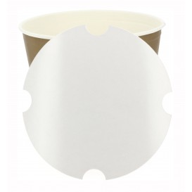 Tampa Cartao para Emballagem Frango Fritto 3990ml (100 Uds)