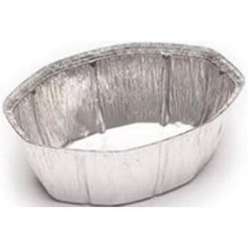 Embalagem Aluminio Oval Frango 2400ml (125 Uds)