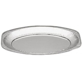Bandeja Oval de Aluminio 870ml (10 Unidades)