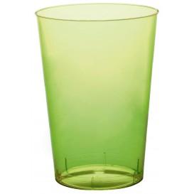 Copo Plastico Moon Cristal Verde Limão Transp. PS 230ml (1000 Uds)
