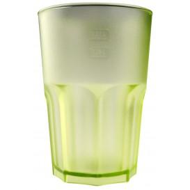 Copo Reutilizáveis SAN Frost Verde Limão Transp. 400ml (5 Uds)