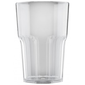 Copo Plastico Transparente SAN Ø85mm 400ml (75 Uds)