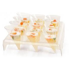 Stand Plasticos para 12 Cone Trans.24x20x5,8cm (1 Ud)
