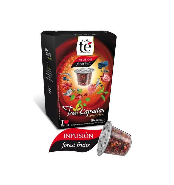 Cápsulas Nespresso* Compatível Chá Frutos Silvestres(10 Uds)