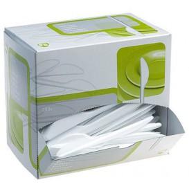 Caja Dispensadora de Colher Branco (250 Uds)