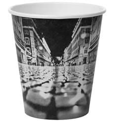 """Copo de Cartão 6Oz/180ml """"Parisian"""" Ø7,9cm (50 Uds)"""