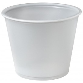 Copo Plastico PS para Molhos 165ml Ø74mm (250 Uds)