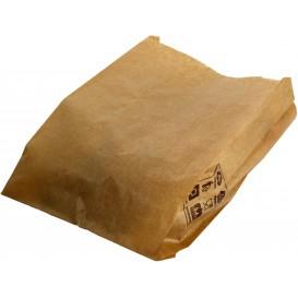 Saco de Papel Kraft 12+6x20 cm (1000 Unidades)