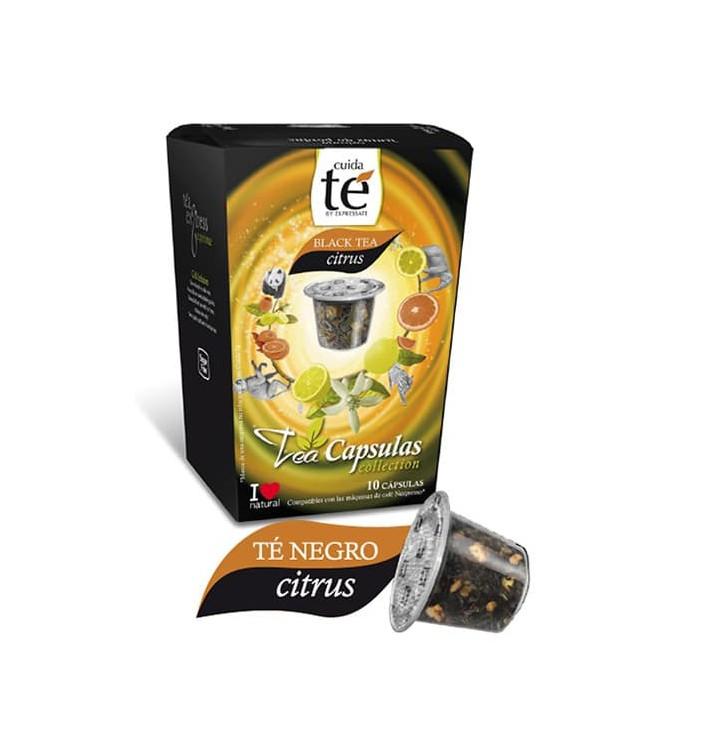 Cápsulas Nespresso* Compatível Chá Preto Citrus(10 Uds)